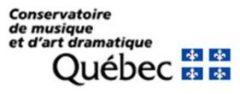 Logo - Conservatoire de musique et d'art dramatique (Québec) (281x110)